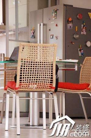 简约风格公寓富裕型130平米设计图