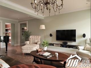 三居室140平米以上客厅灯具效果图