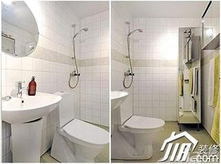 小户型60平米卫生间装潢
