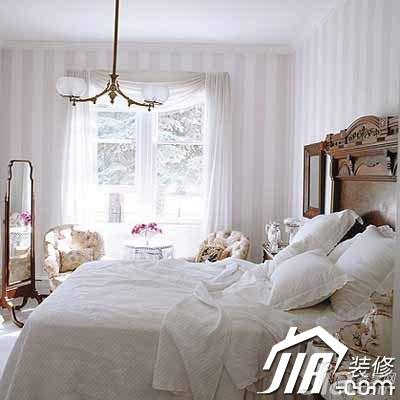 欧式风格公寓简洁白色经济型70平米卧室灯具效果图
