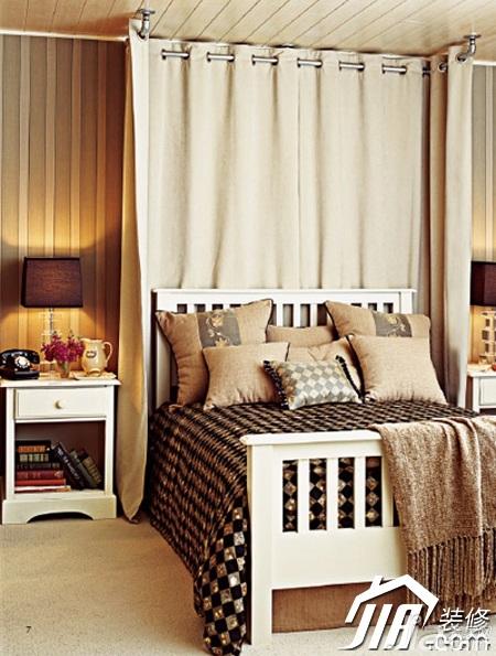 简约风格小户型简洁3万-5万80平米卧室床效果图
