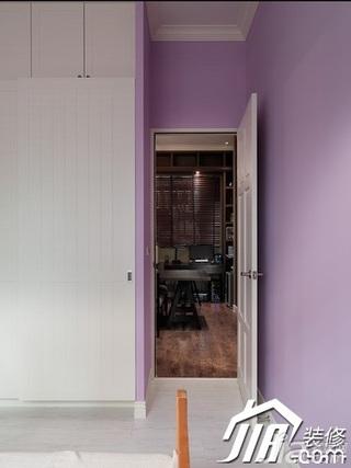 欧式风格三居室富裕型100平米过道效果图