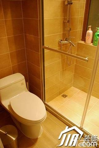 混搭风格公寓5-10万130平米卫生间装潢