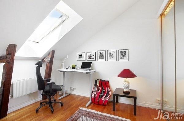 28个北欧风小户型家庭工作室书桌设计1/28