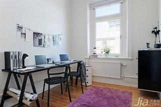 28个北欧风小户型家庭工作室书桌设计6/28