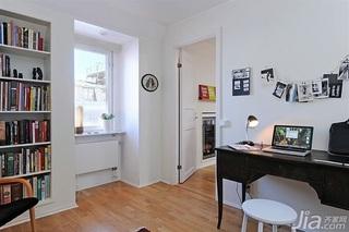 28个北欧风小户型家庭工作室书桌设计7/28