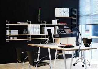28个北欧风小户型家庭工作室书桌设计8/28
