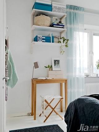 28个北欧风小户型家庭工作室书桌设计16/28