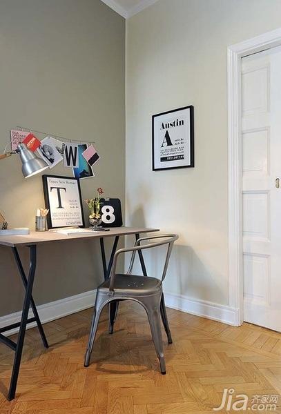 28个北欧风小户型家庭工作室书桌设计21/28