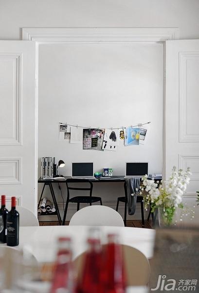 28个北欧风小户型家庭工作室书桌设计23/28