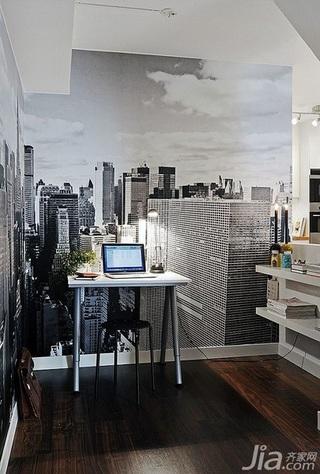 28个北欧风小户型家庭工作室书桌设计26/28