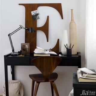 28个北欧风小户型家庭工作室书桌设计27/28