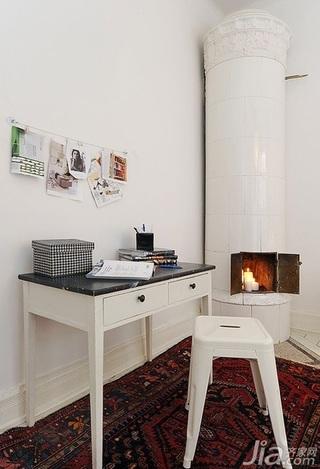 28个北欧风小户型家庭工作室书桌设计28/28