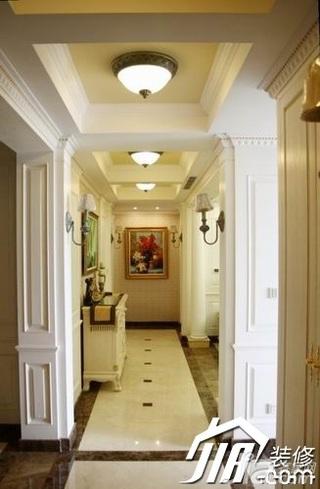 欧式风格三居室豪华型120平米门厅吊顶效果图
