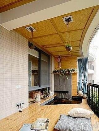 简约风格公寓简洁5-10万100平米阳台榻榻米设计