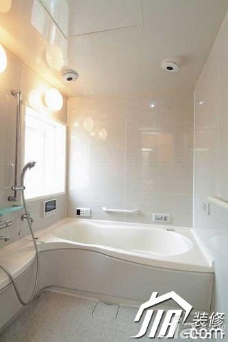 风格公寓富裕型90平米卫生间装修图片高清图片