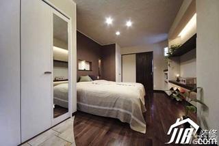 日式风格公寓富裕型90平米卧室衣柜设计图纸