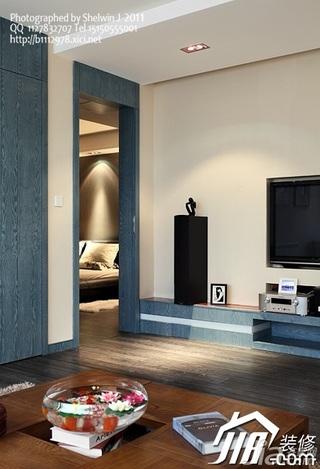 欧式风格别墅富裕型客厅电视柜图片