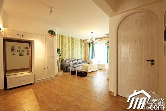 田园风格公寓富裕型100平米门厅装潢