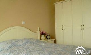宜家风格经济型80平米卧室衣柜设计图纸