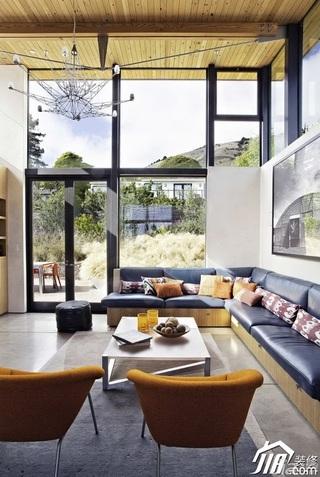 别墅富裕型客厅沙发效果图