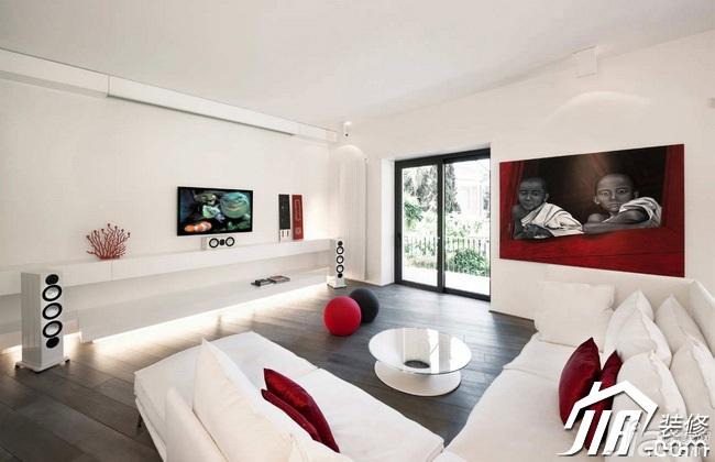 欧式风格富裕型140平米以上客厅沙发效果图