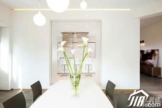 欧式风格富裕型140平米以上餐厅餐桌效果图