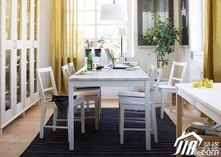 宜家风格公寓富裕型餐厅餐边柜效果图