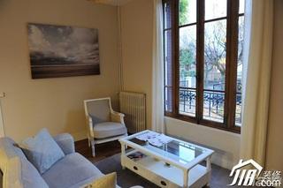 宜家风格别墅经济型客厅沙发效果图