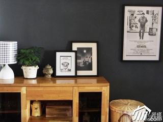 宜家风格二居室70平米餐边柜效果图