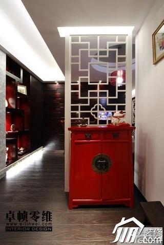 欧式风格公寓富裕型100平米客厅隔断效果图