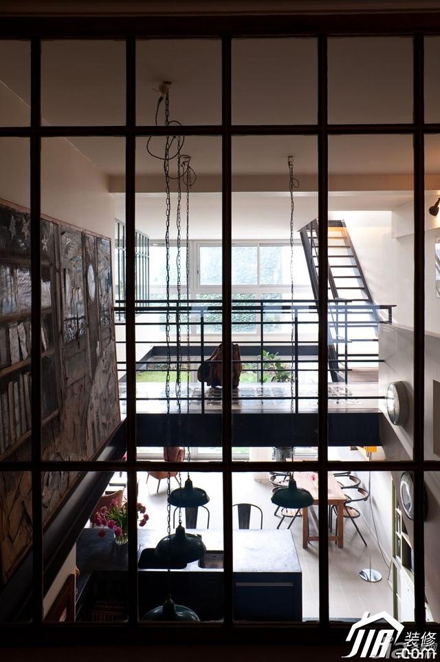 loft风格复式富裕型阁楼装修效果图