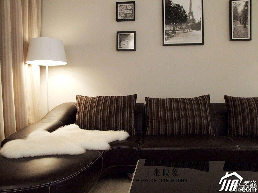 装修应该注意的问题_简约风格公寓客厅沙发背景墙沙发图片_齐家网装修效果图