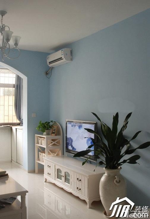田园风格富裕型90平米电视柜效果图