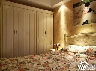 公寓5-10万90平米卧室衣柜效果图