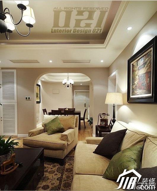 欧式风格客厅沙发效果图