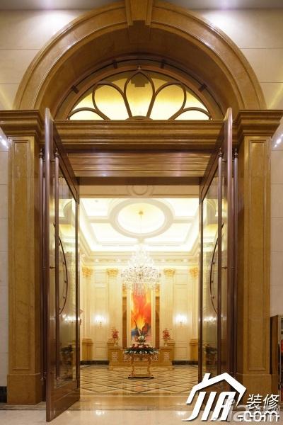 欧式风格别墅奢华豪华型客厅背景墙效果图