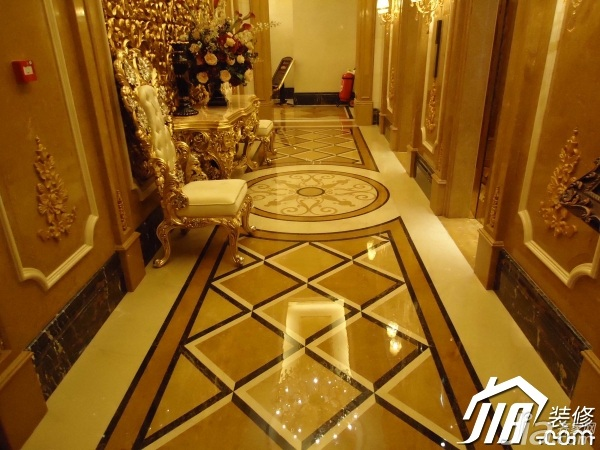 欧式风格别墅奢华豪华型走廊装修效果图