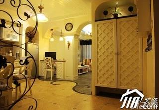 地中海风格小户型小清新5-10万90平米厨房灯具效果图