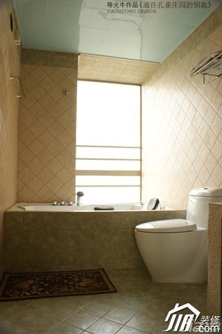 公寓130平米卫生间装潢