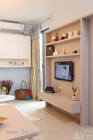 小户型客厅电视柜图片