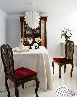 欧式风格别墅20万以上餐桌效果图