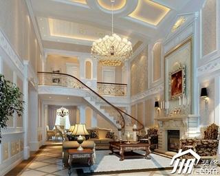 东南亚风格别墅奢华豪华型客厅背景墙沙发图片