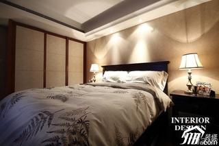 美式风格二居室富裕型80平米卧室衣柜设计图