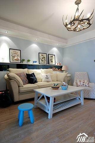 混搭风格公寓130平米客厅沙发背景墙沙发图片