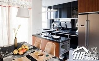 混搭风格小户型简洁富裕型厨房灯具婚房家装图片