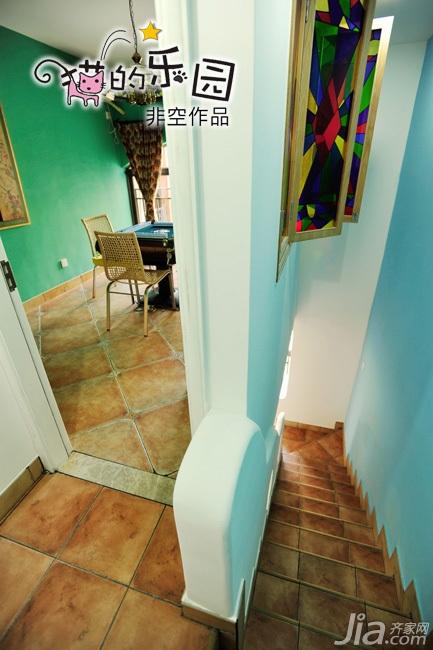 非空富裕型140平米以上楼梯装修效果图