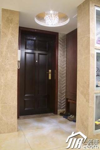 欧式风格豪华型门厅装修效果图