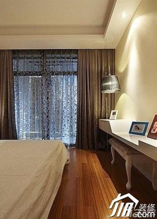 简约风格公寓简洁经济型80平米卧室床图片