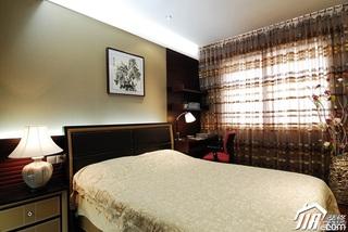 中式风格公寓富裕型110平米装修效果图